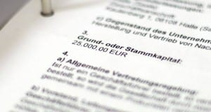Gewerbeanmeldung einer GmbH