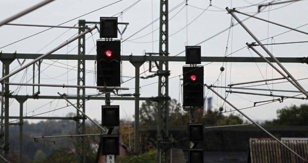 Signalleuchten der Deutschen Bahn