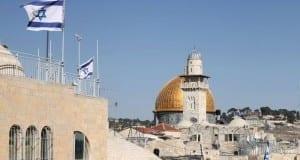 Tempelberg mit Felsendom in Jerusalem