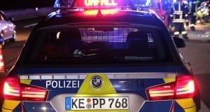 Autobahnpolizei Unfall Feuerwehr Polizei