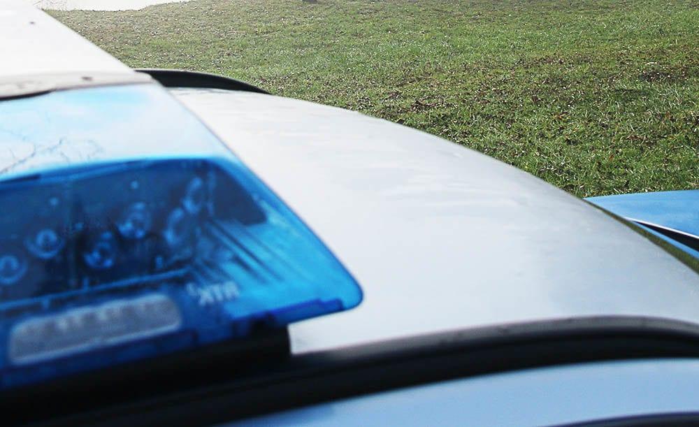 Blaulicht Polizeifahrzeug