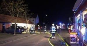 Brand Garage Ichenhausen