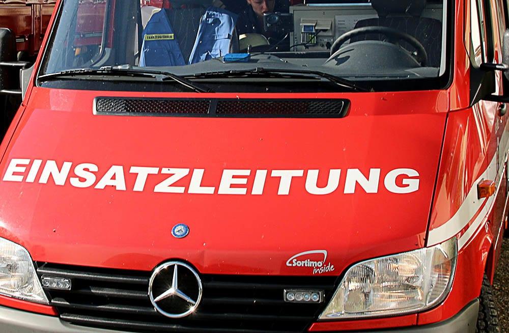 Feuerwehr Transporter ELW