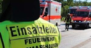 Feuerwehr Zusmarshausen und Rettungswagen