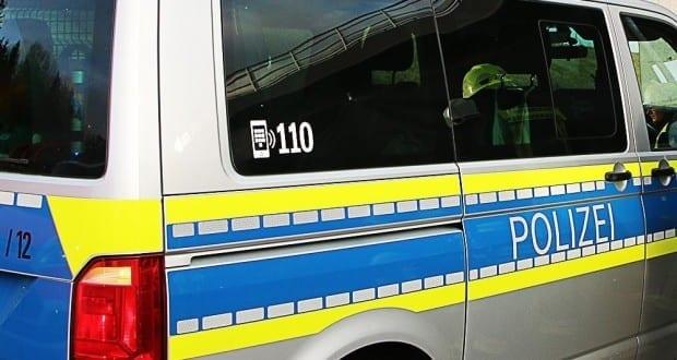 Polizeifahrzeug Polizeibus