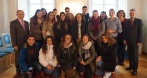 Schüler Teneriffa Besuch Günzburg