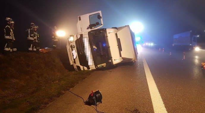 Unfall Lkw Leipheim Elchingen 11012018 1
