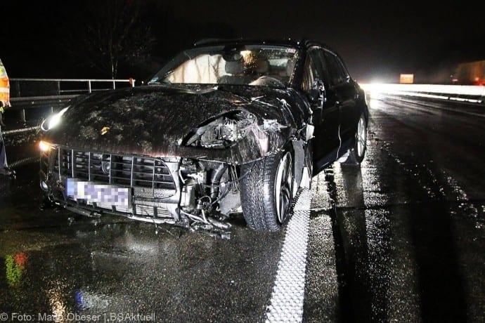 Unfall Porsche A8 bei GZ 16012018 3