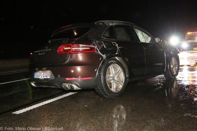 Unfall Porsche A8 bei GZ 16012018 4