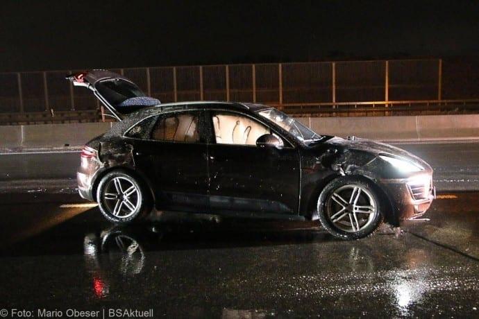 Unfall Porsche A8 bei GZ 16012018 7