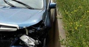 Unfallfahrzeug Autobahnjpg
