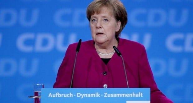 Angela Merkel am 26.02.2017