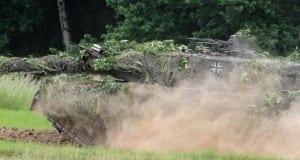 Bundeswehr-Panzer Leopard 2