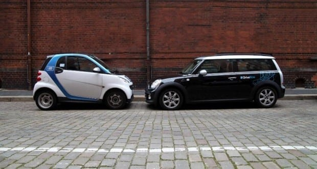 DriveNow und Car2Go
