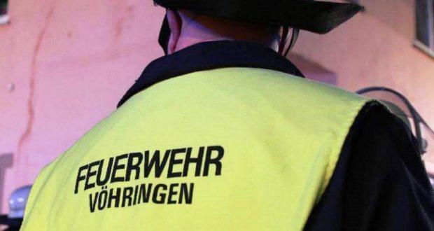 Feuerwehr Vöhringen Einsatz