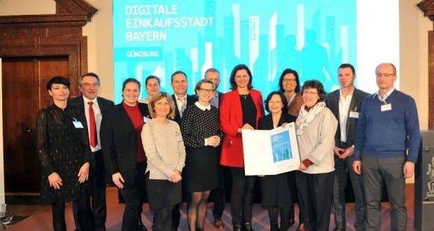 Guenzburg Abschlussveranstaltung Digitale Einkaufsstadt
