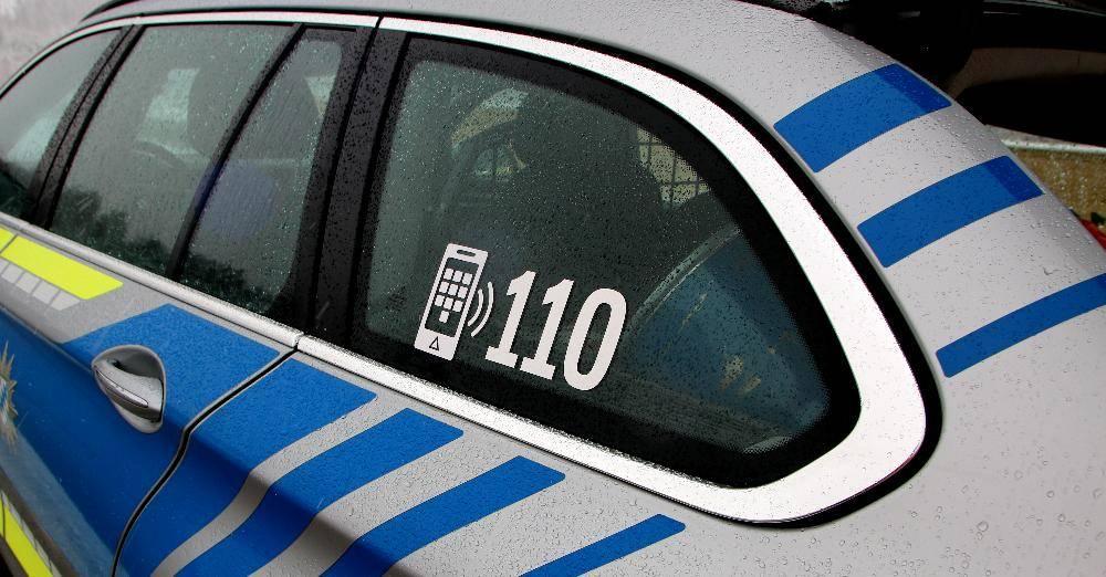 Polizeifahrzeug 110