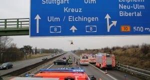 Unfall A8 Günzburg-Leipheim 10022018 3