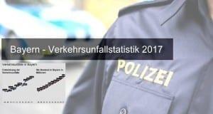 Verkehrsunfallstatistik 2017 Bayern