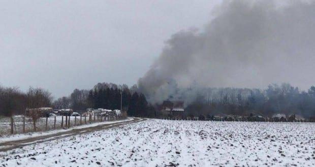 Brand Scheune Lauingen