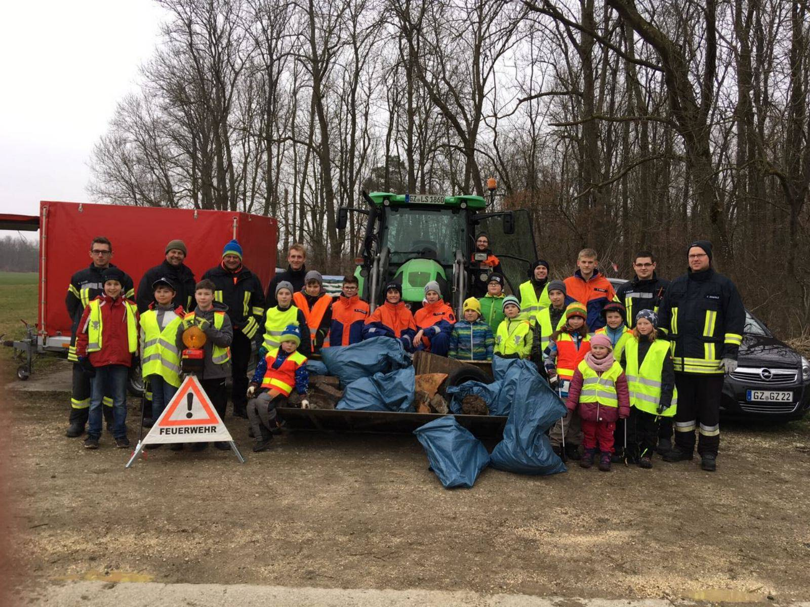 Feuerwehr Reisensburg Umweltwoche 2018