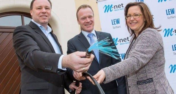 LEW TelNet_Inbetriebnahme Breitbandnetz Offingen