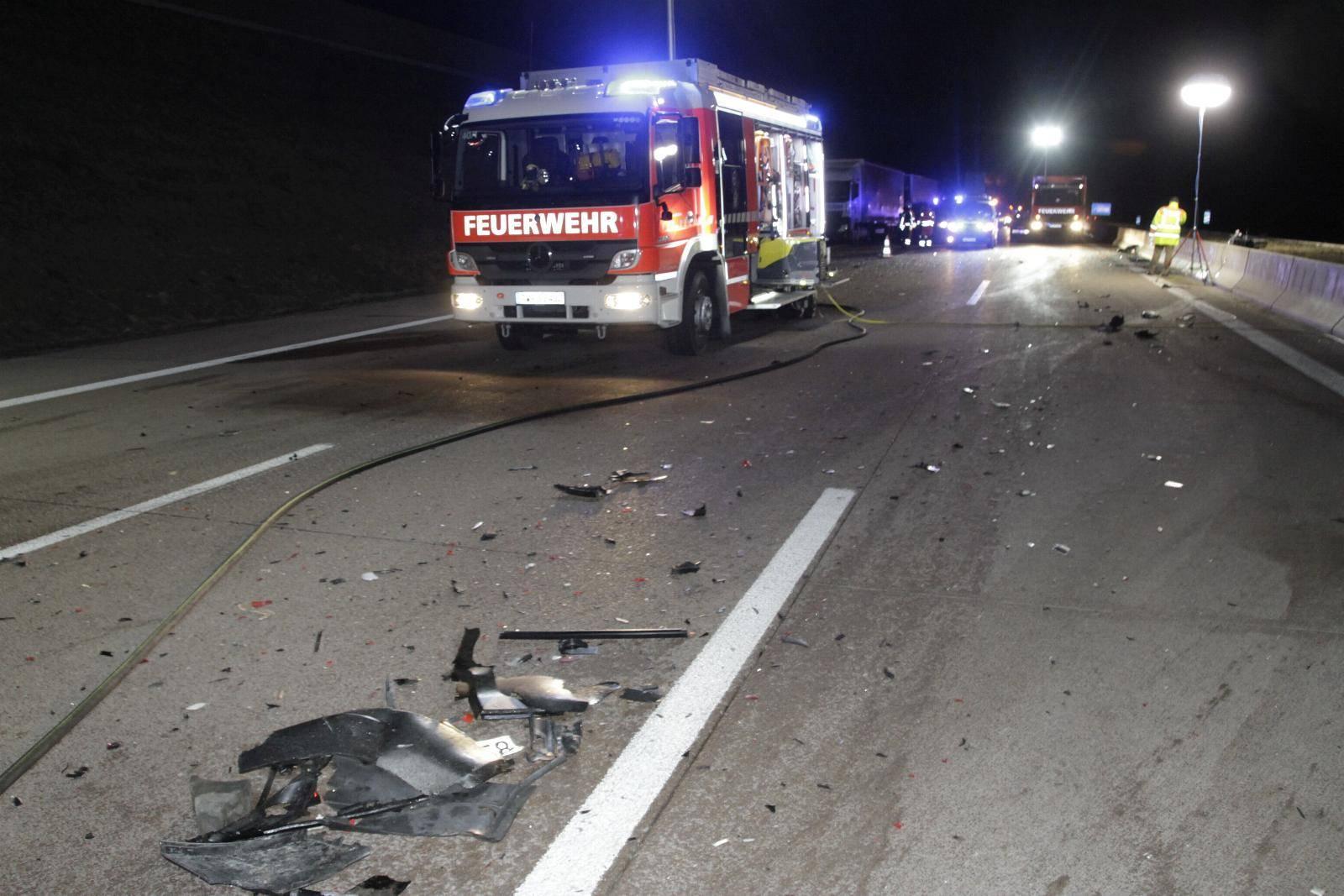 56-Jähriger stirbt nach Unfall an Stauende