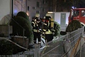 Brand in Einfamilienhaus – Weißenhorn 01042018 1