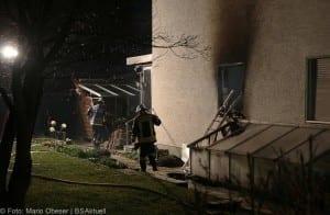 Brand in Einfamilienhaus – Weißenhorn 01042018 12