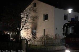 Brand in Einfamilienhaus – Weißenhorn 01042018 13
