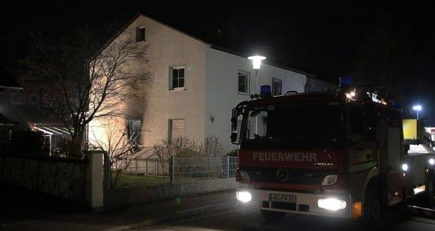 Brand in Einfamilienhaus – Weißenhorn 01042018 14