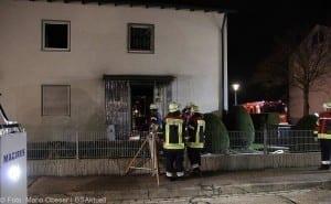 Brand in Einfamilienhaus – Weißenhorn 01042018 15