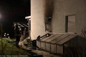 Brand in Einfamilienhaus – Weißenhorn 01042018 2