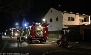 Brand in Einfamilienhaus – Weißenhorn 01042018 3