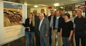Fledermaus-Regionalbetreuer bei der Fledermaus-Ausstellung Neu-Ulm