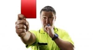 Rote Karte Schiedsrichter 103tnn – Fotolia