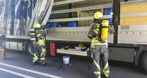 Feuerwehr B16 Muehlwegtunnel Guenzburg 1
