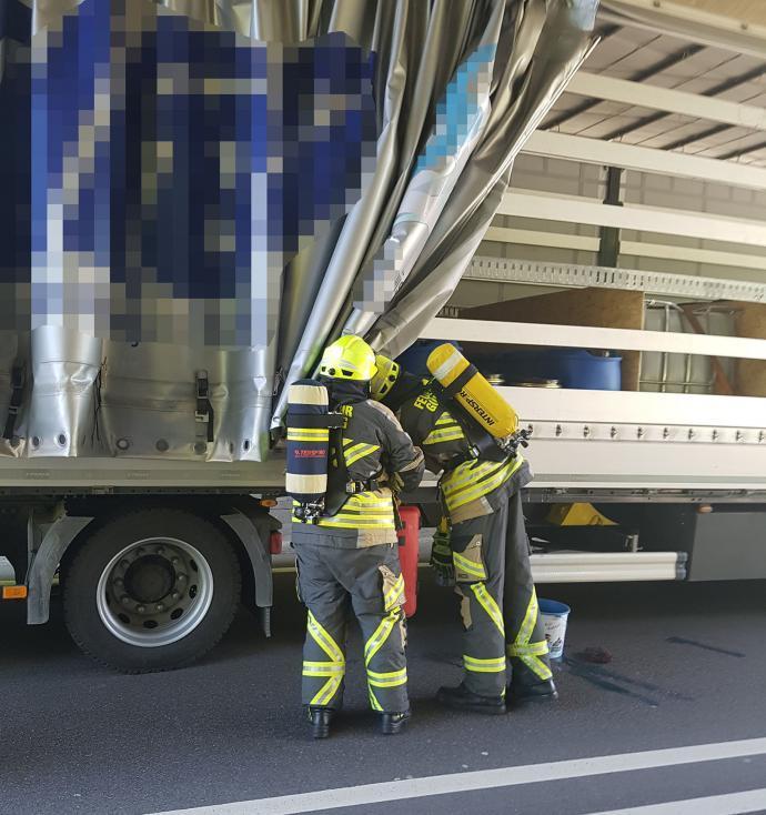 Feuerwehr Günzburg im Einsatz B16 Mühlwegtunnel