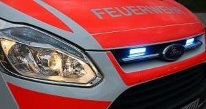 Feuerwehrfahrzeug Front Blitzer