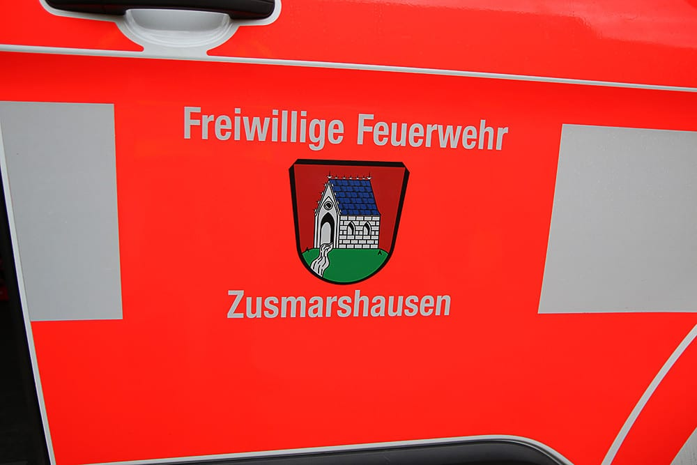Feuerwehrfahrzeug Zusmarshausen