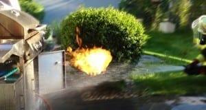 Gasgrill Flamme Feuer