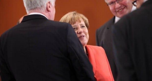 Horst Seehofer, Angela Merkel und Peter Altmaier