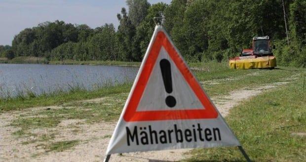 Mäharbeiten Donau BEW