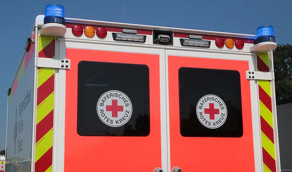 Rettungswagen BRK