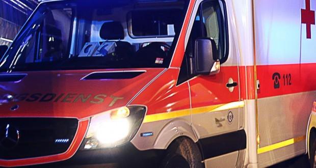 Rettungswagen Nacht Einsatz