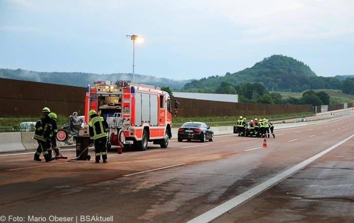 Unfall A8 bei Zusmarshausen 13052018 10