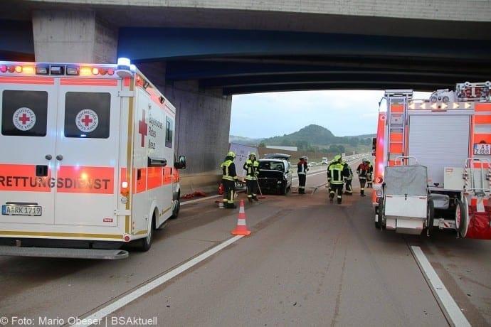 Unfall A8 bei Zusmarshausen 13052018 7