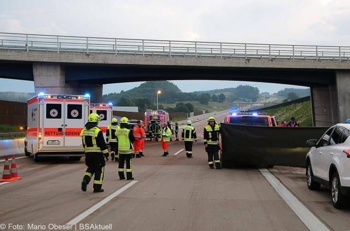 Unfall A8 bei Zusmarshausen 13052018 9