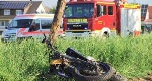 Unfall Motorrad Wattenweiler B16 10052018 1