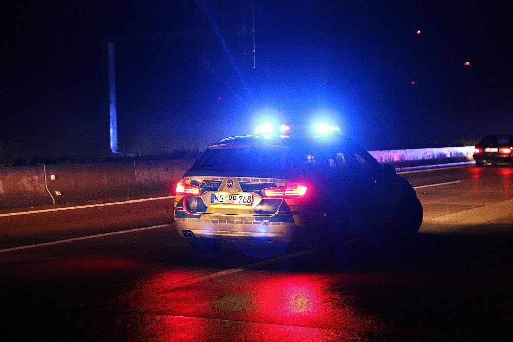 Autobahnpolizei Polizeifahrzeug